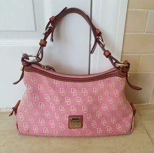 DOONEY & BOURKE Pink Monogram Handbag Satchel